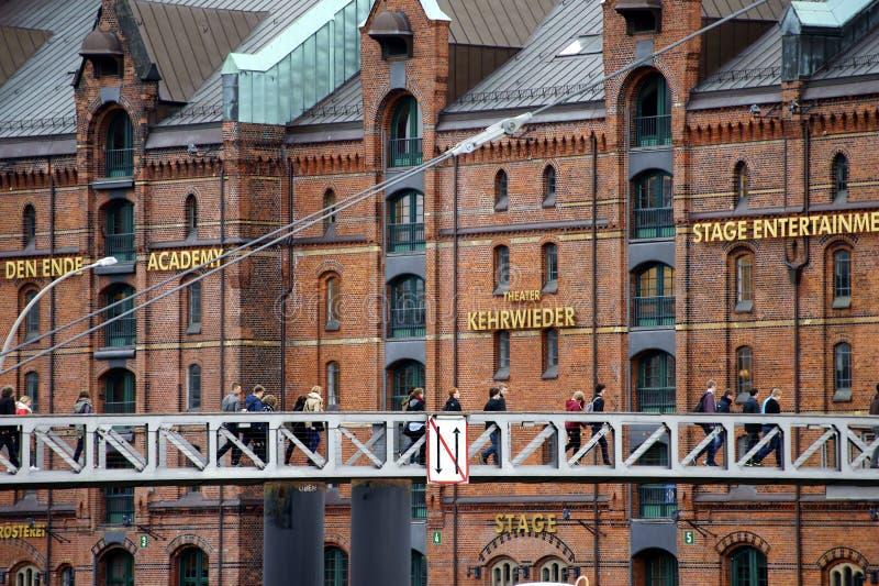 Театр Kehrwieder Гамбург стоковое изображение rf