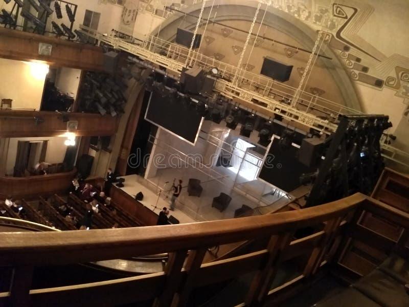 Театр Nouveau искусства стоковое фото rf