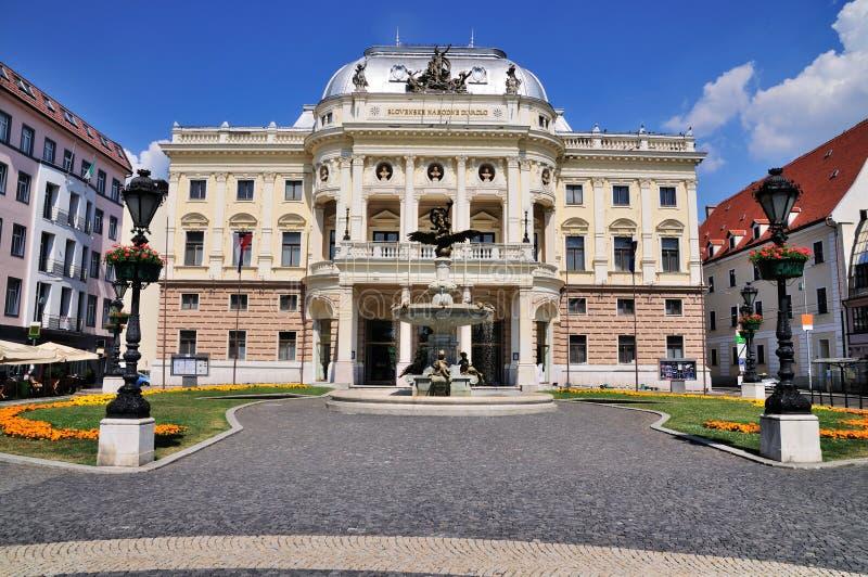 театр slovak bratislava национальный стоковые фото