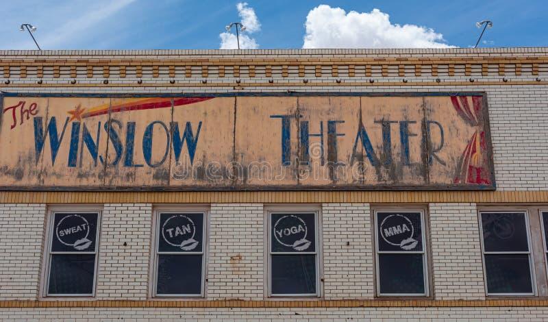 Театр Winslow стоковые изображения rf