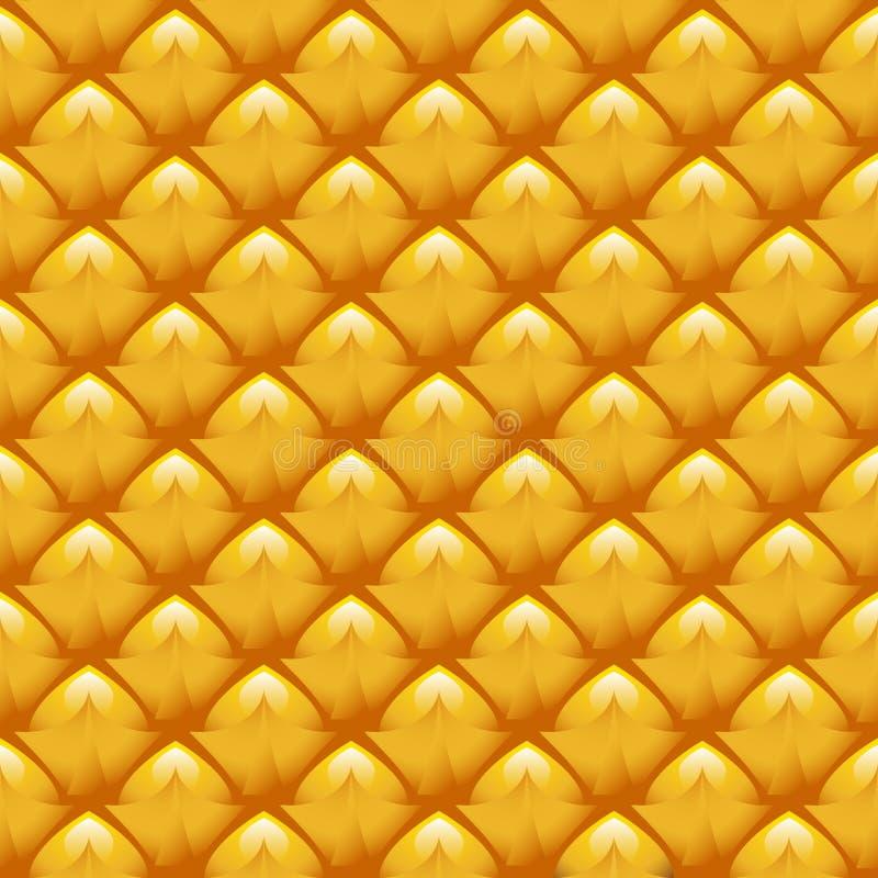 текстура ананаса бесплатная иллюстрация