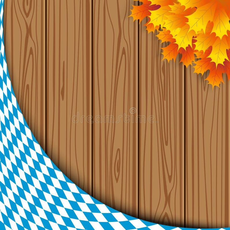 Текстура баварского флага иллюстрация штока