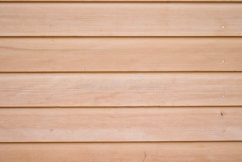 Текстура бежевых и коричневых деревянных планок стоковое фото rf