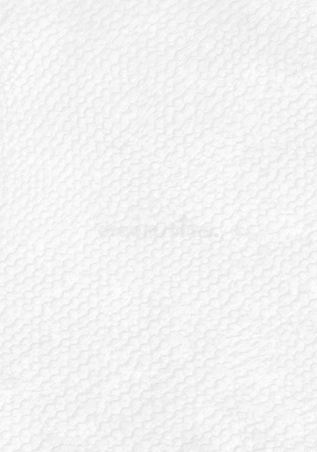 Текстура белой бумаги с геометрической безшовной картиной стоковые фотографии rf
