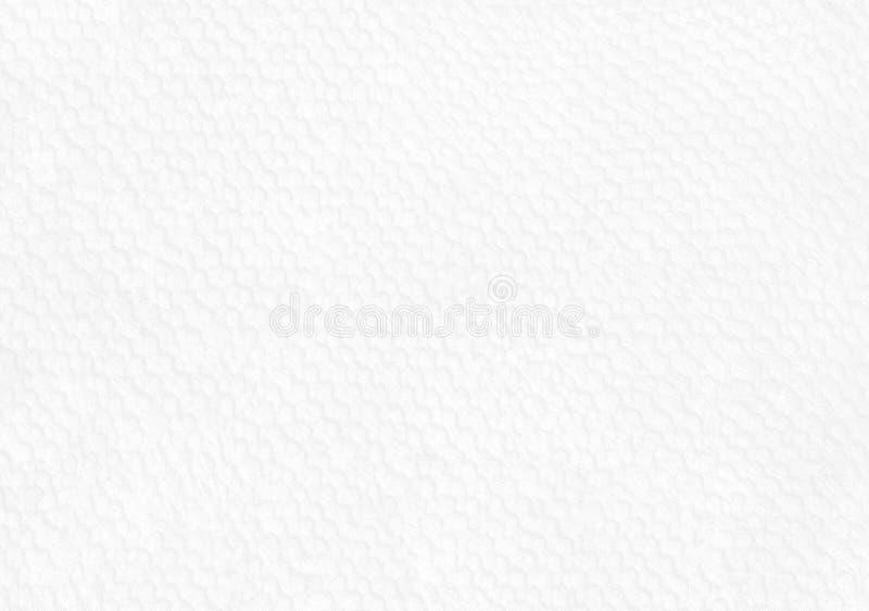 Текстура белой бумаги с геометрической картиной для предпосылки стоковая фотография