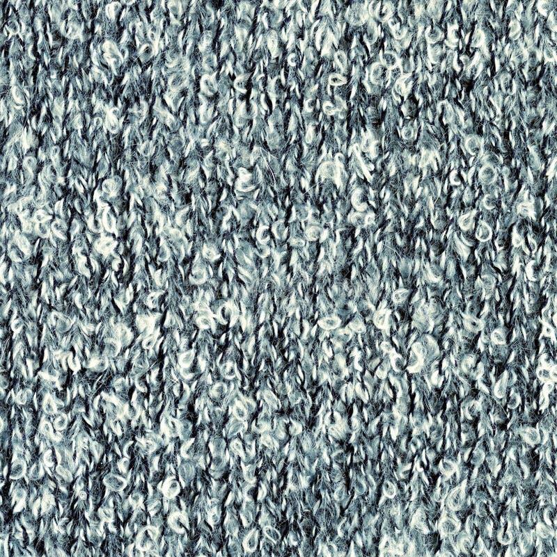 Текстура буклета Связанная Motley предпосылка меланжа шерстяной ткани стоковые изображения rf