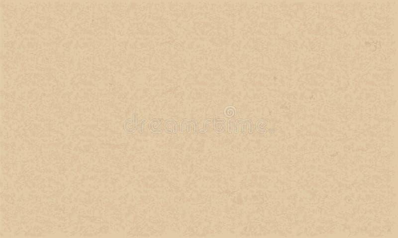 Текстура бумаги Брайна для предпосылки вектор бесплатная иллюстрация