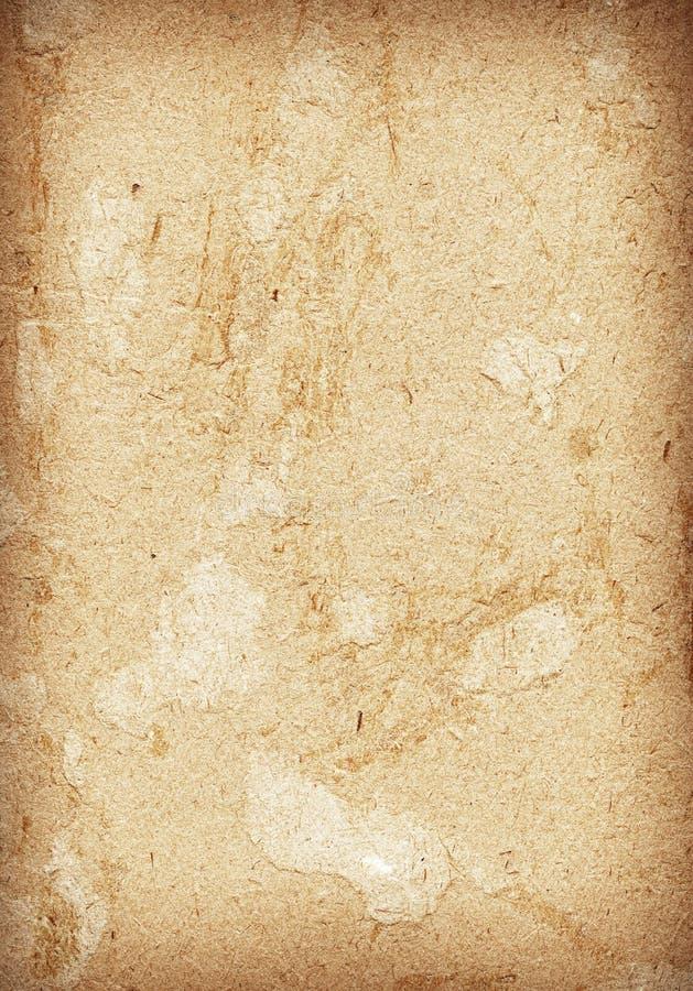Текстура бумаги Брайна стоковые фото