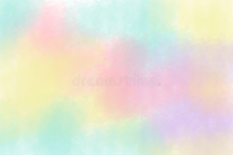 Текстура бумаги цвета воды иллюстрация вектора