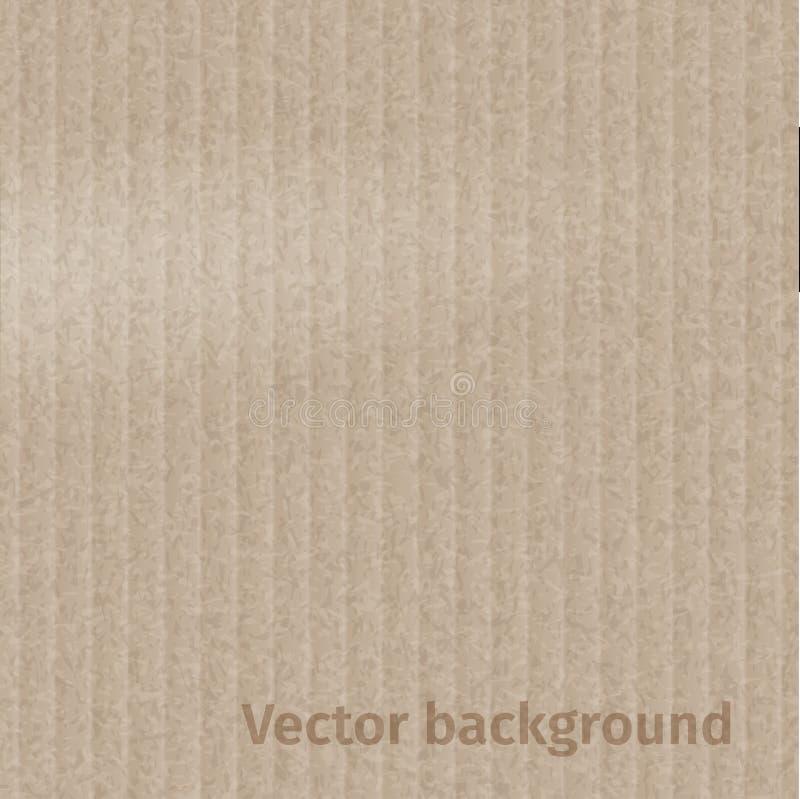 текстура близкой съемки картона вверх иллюстрация вектора