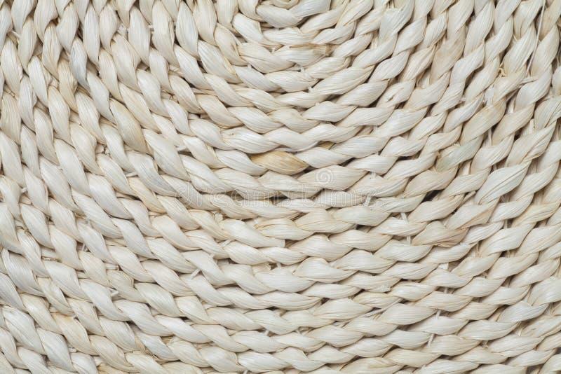 текстура валика соломы стоковая фотография