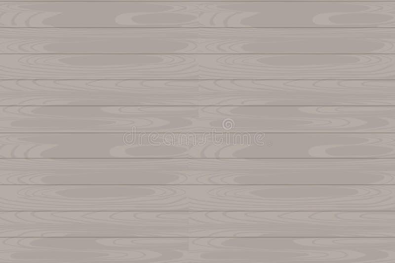 Текстура вектора горизонтальная безшовная деревянная EPS бесплатная иллюстрация