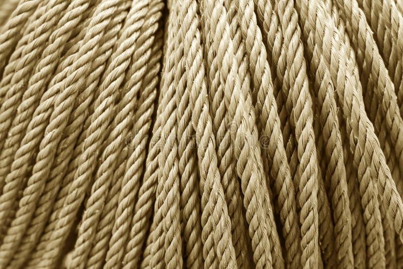 Текстура веревочки для произведения искусства предпосылки и дизайна стоковые изображения