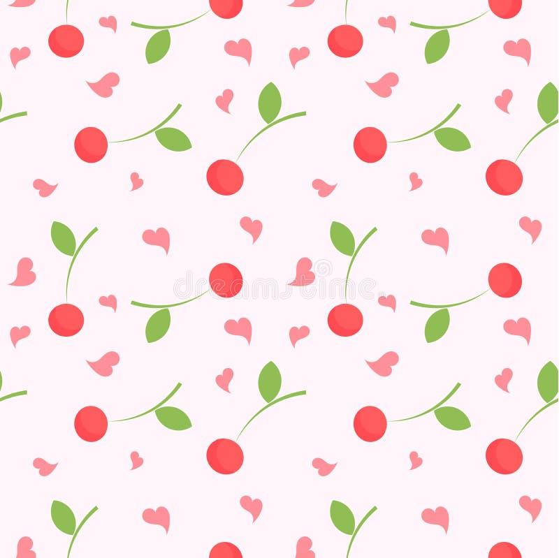 Текстура вишни иллюстрация штока