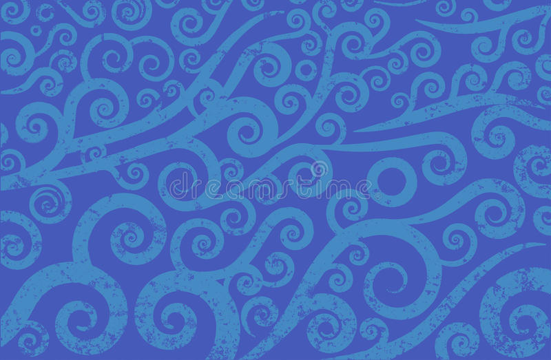 Текстура волн Стоковое Изображение RF