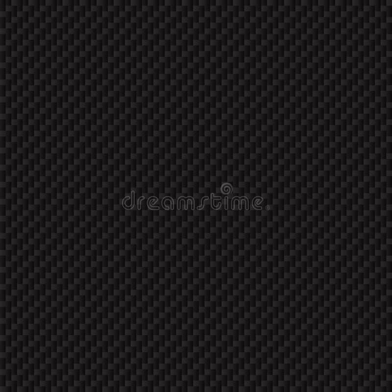 Текстура волокна углерода. Безшовная текстура вектора. стоковые фото