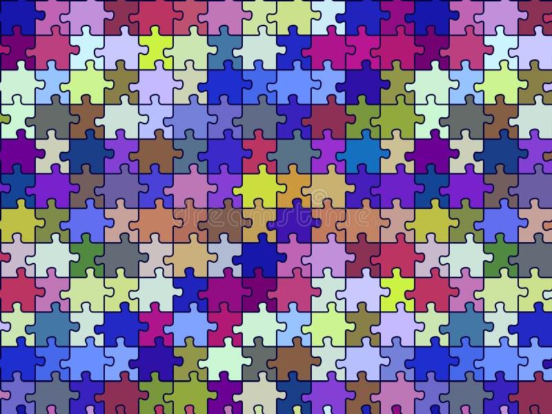 текстура головоломки ретро безшовная бесплатная иллюстрация