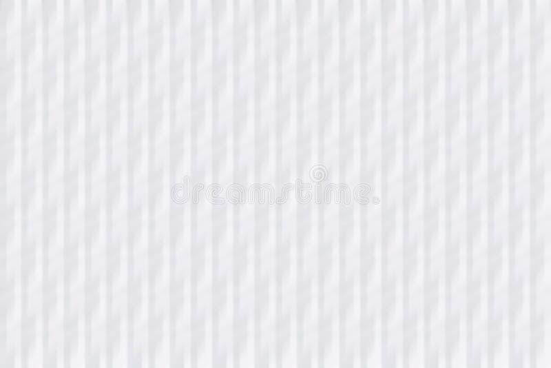 Текстура гофрированной бумага Белая предпосылка бесплатная иллюстрация