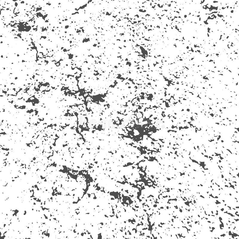 Текстура дистресса Grunge черно-белая иллюстрация вектора