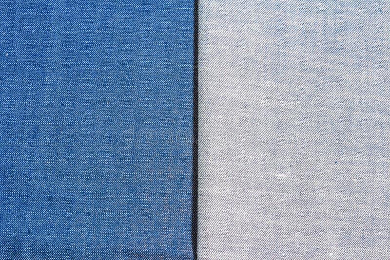 Текстура джинсов джинсовой ткани стоковые фото