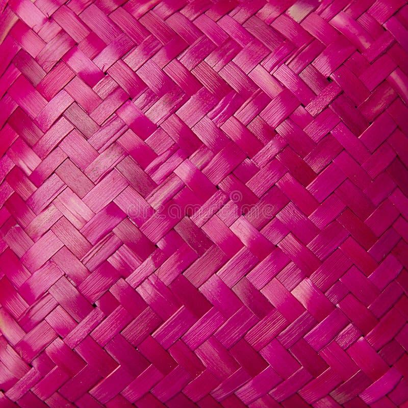 Текстура заплетенная пинком стоковое фото rf