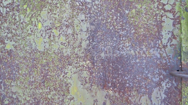 Текстура зеленой рифлёной поверхности металла стоковое изображение rf