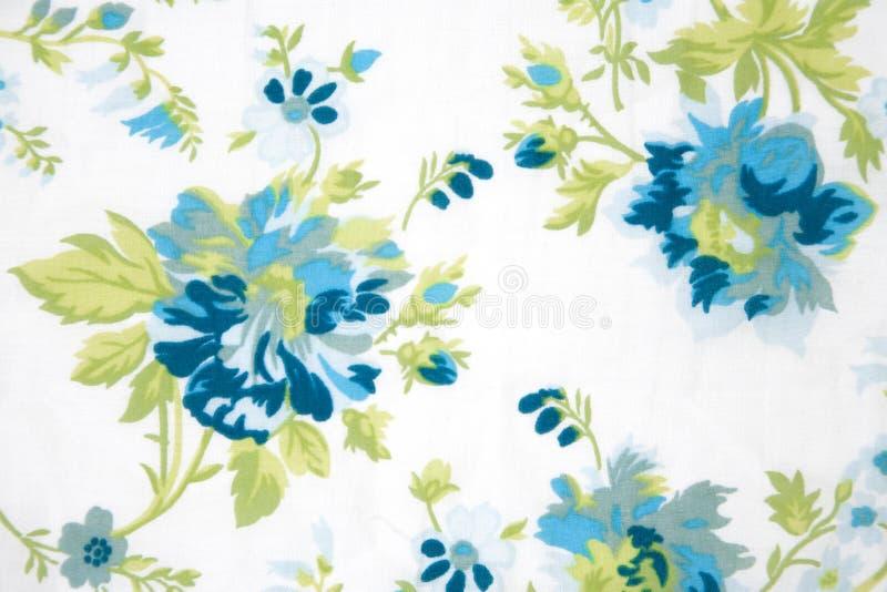 текстура зеленых заводов цветка ткани стоковое фото