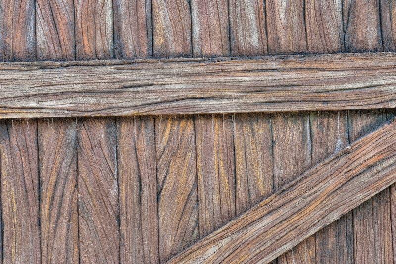 Текстура зерна планки цемента деревянная стоковое изображение