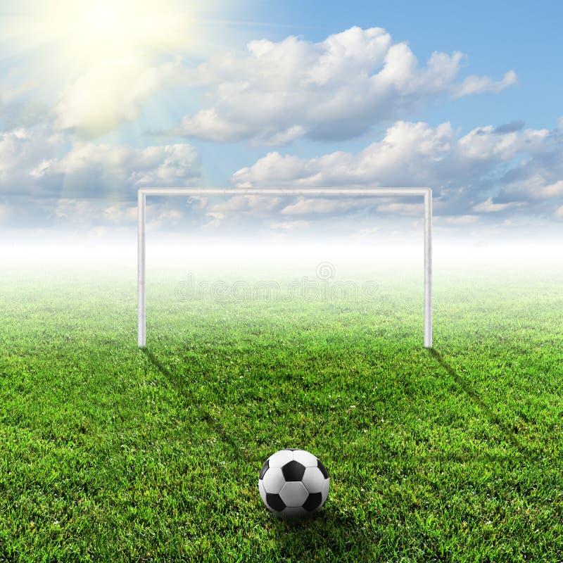 текстура зеленого цвета травы футбола поля предпосылки бесплатная иллюстрация