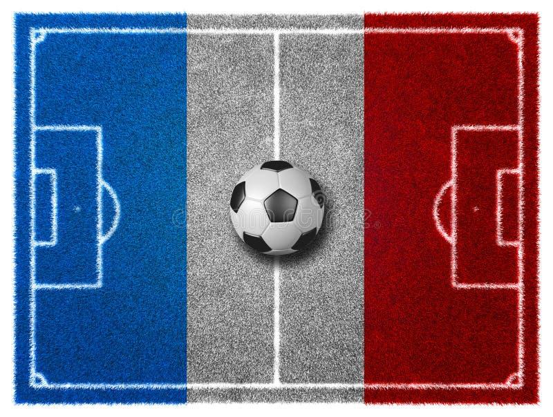 текстура зеленого цвета травы футбола поля предпосылки иллюстрация штока