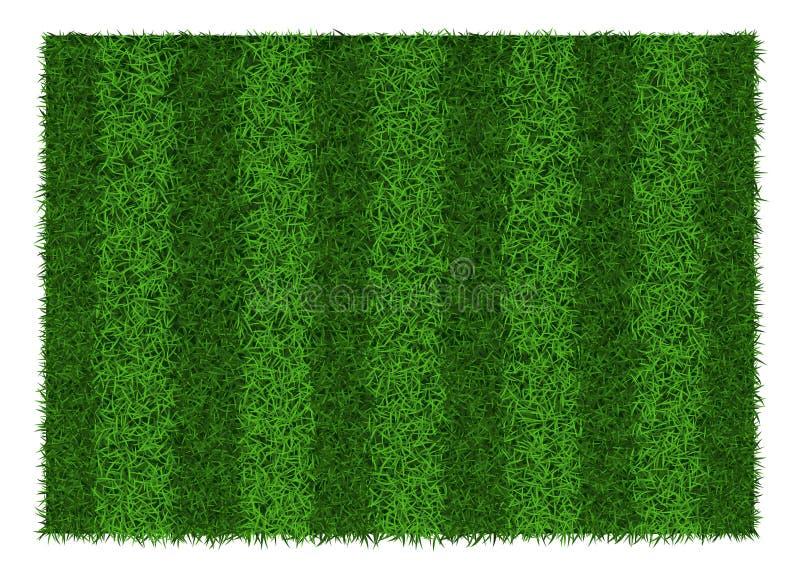 текстура зеленого цвета травы футбола поля предпосылки иллюстрация вектора
