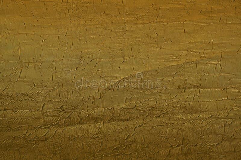 текстура золота ткани стоковая фотография