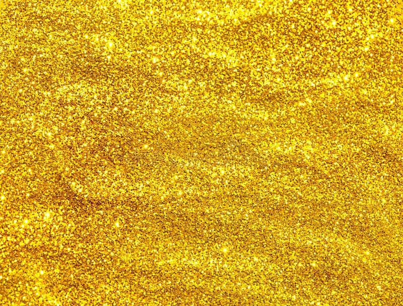 Текстура золотого яркого блеска безшовная стоковое изображение