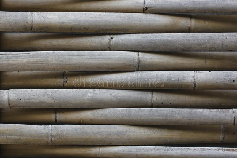 Текстура или предпосылка стены weave отрезка бамбука половинные стоковое изображение