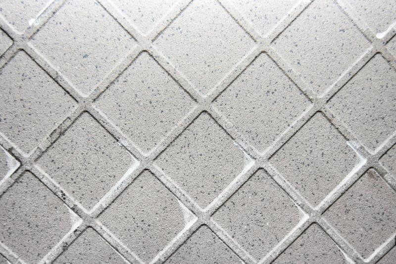 Текстура используемой стороны керамической плитки задней стоковые изображения rf