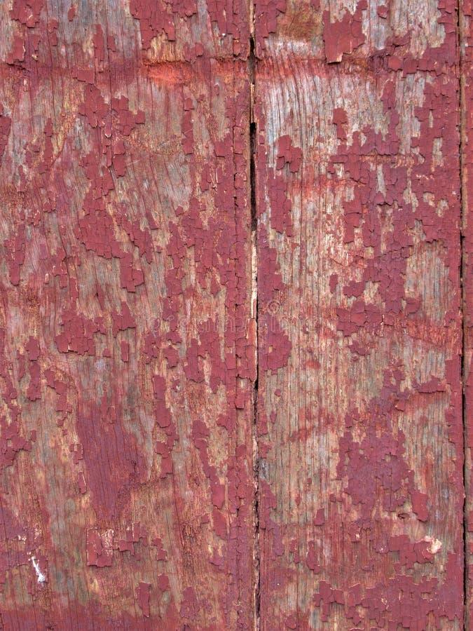 Текстура и картина: Красная покрашенная древесина стоковое фото
