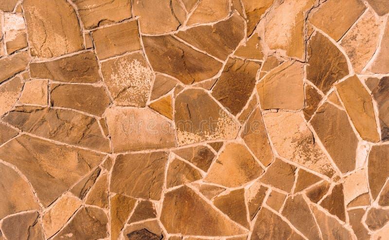 Текстура каменной стены Предпосылка старого камня masonry с цементом стоковое фото rf