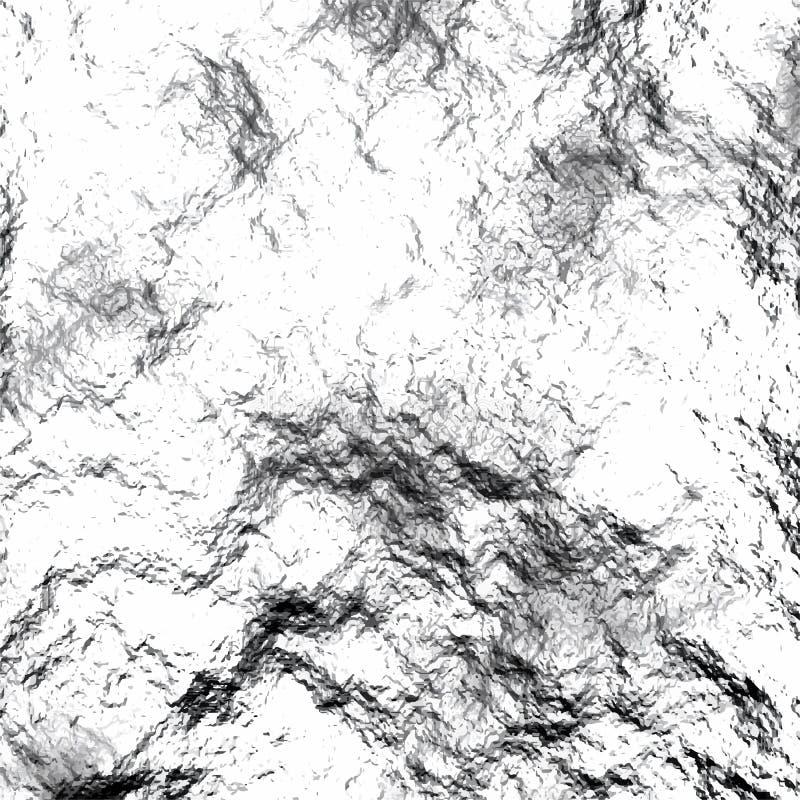 текстура камня утеса мха Предпосылка чернил ретро Поверхность царапины грубая каменная абстрактная иллюстрация вектора иллюстрация вектора