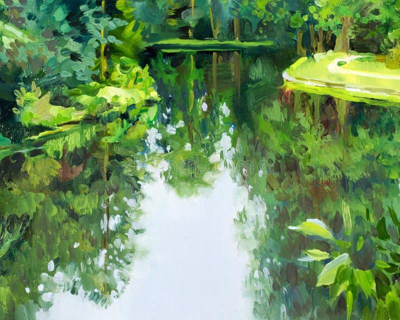 Текстура, картина, предпосылка изображение нарисовано с краской масла стоковая фотография rf