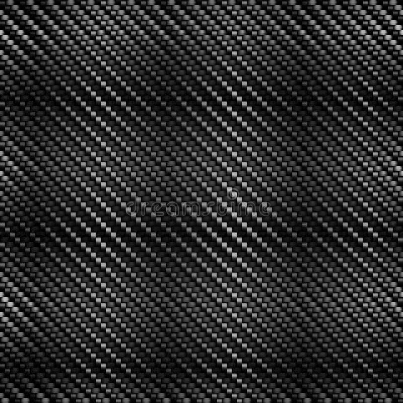 Текстура картины волокна углерода иллюстрация вектора
