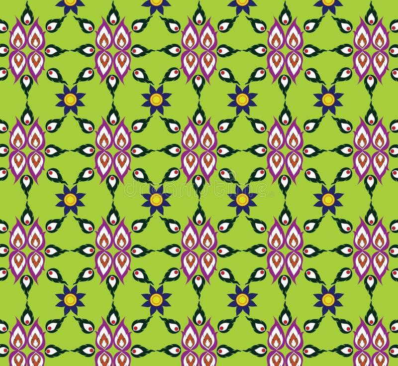 Текстура картины зеленого цвета предпосылок безшовная стоковое фото