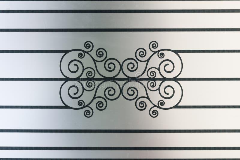 Текстура картины дизайна на стене МАТИРОВАННОГО СТЕКЛА стоковое изображение