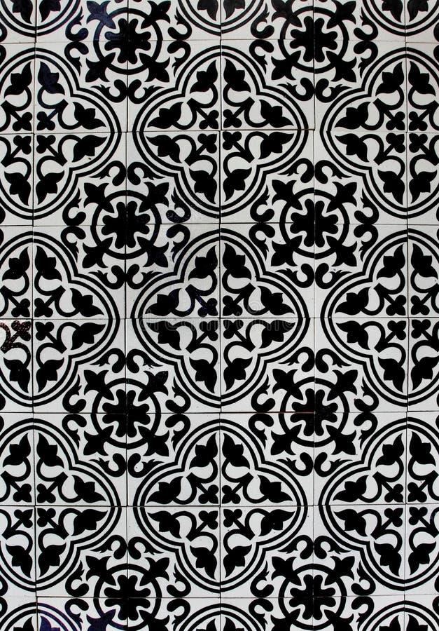 Текстура картины плитки Таиланда стоковое изображение rf