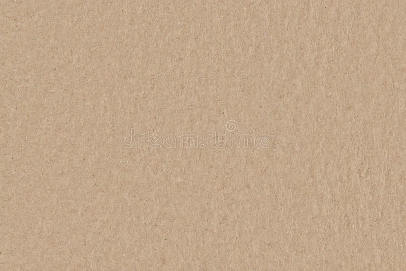 Текстура картона Брауна безшовная, ровная грубая бумажная предпосылка стоковое фото rf