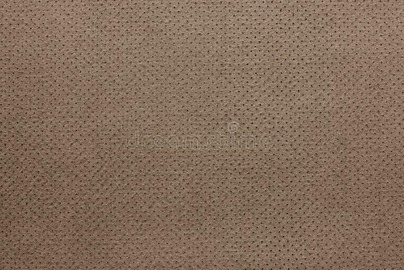 Текстура кожаного коричневого цвета с обратной стороной стоковое изображение