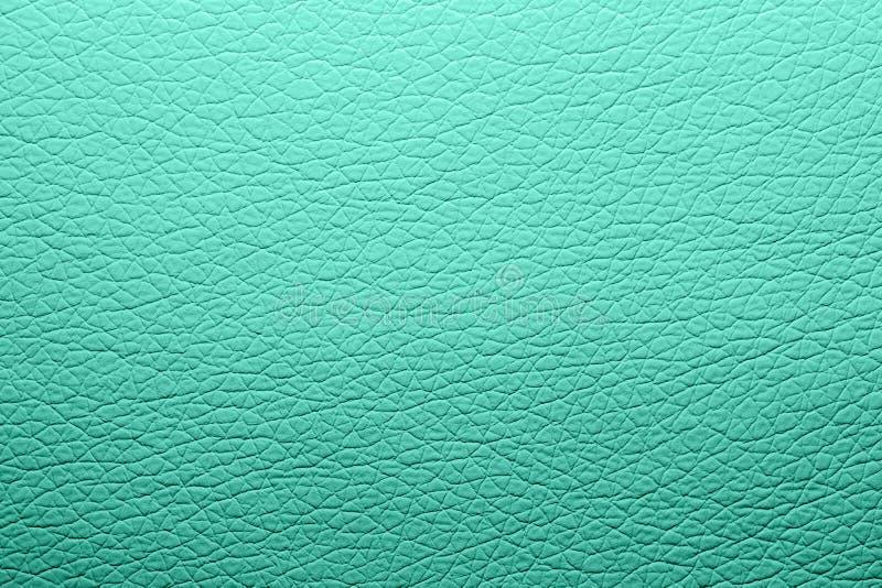 Текстура кожи бирюзы Предпосылка кожи бирюзы стоковое изображение rf
