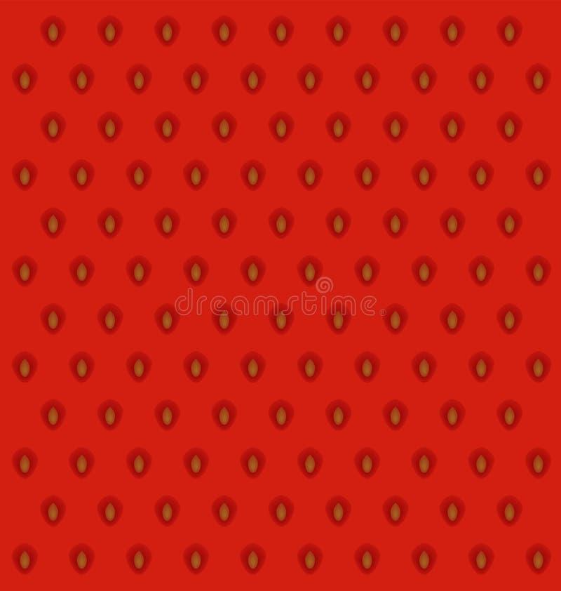 Download Текстура кожи клубники иллюстрация вектора. иллюстрации насчитывающей сезон - 40587135