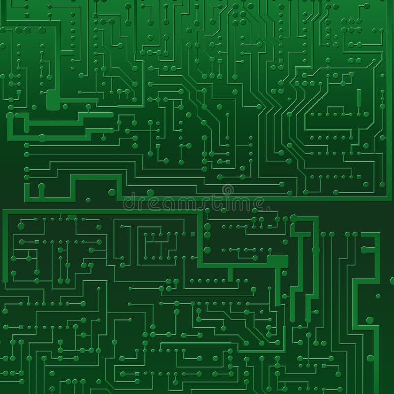 текстура компьютера поверхностная иллюстрация вектора