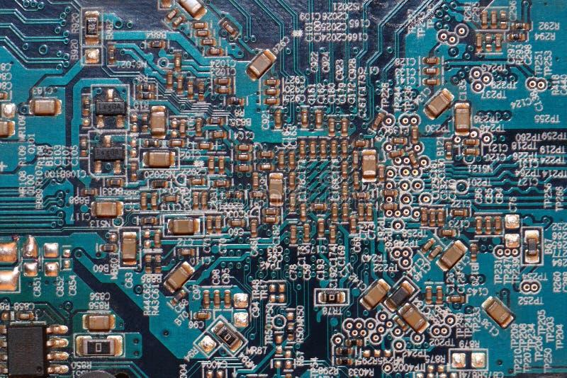 текстура компьютерных микросхем стоковая фотография rf