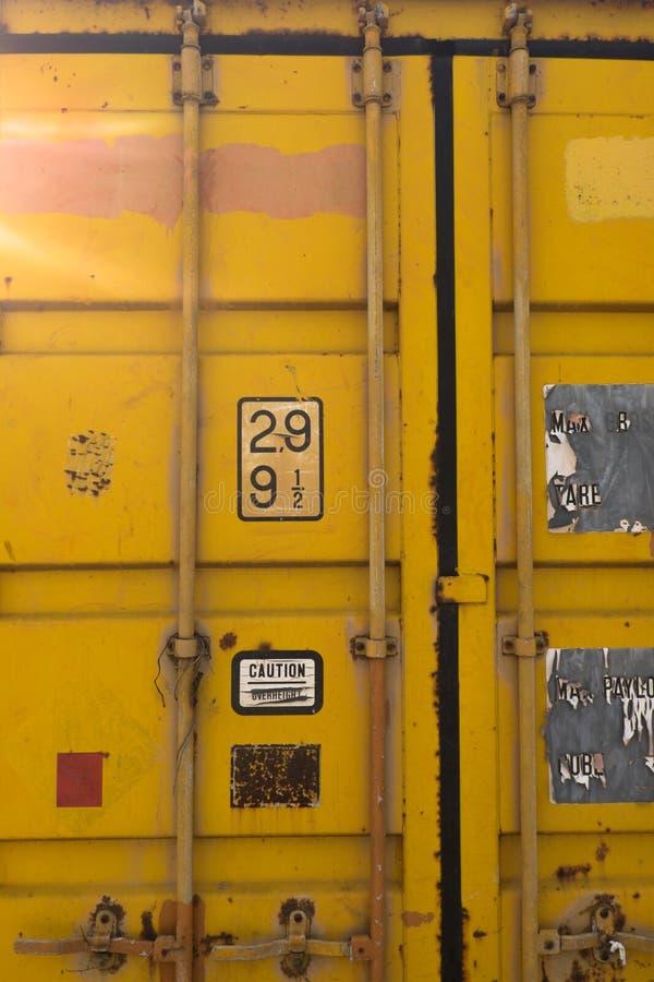 Текстура контейнера ржавчины стоковые фотографии rf